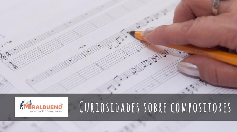 Curiosidades sobre compositores