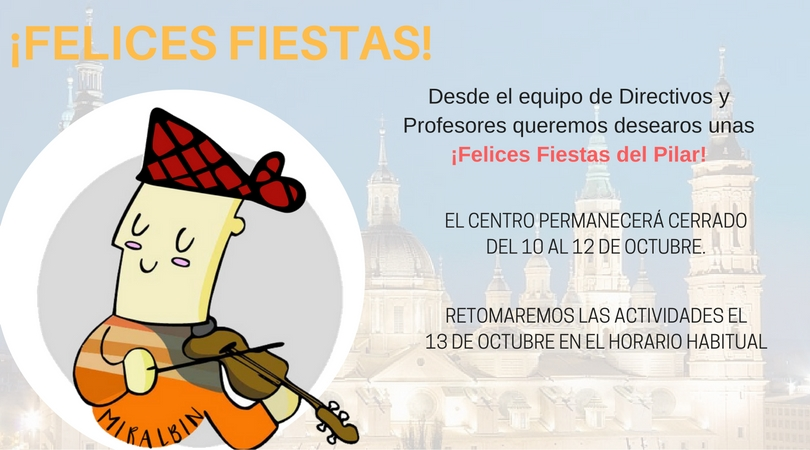 ¡Felices Fiestas de Pilar!