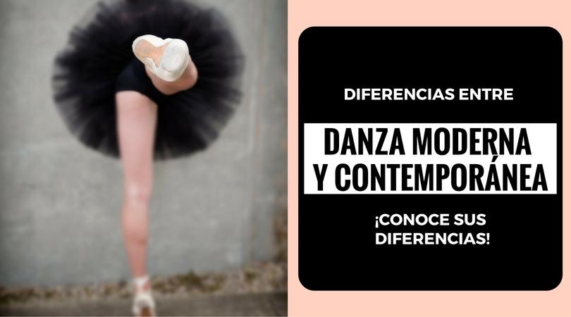 Diferencia entre la danza moderna y la danza contemporánea