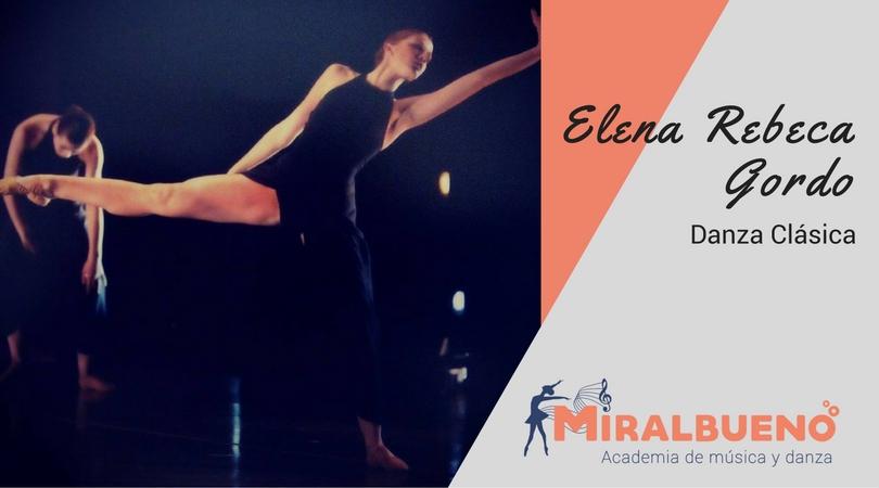 ELENA REBECA GORDO – Danza Clásica