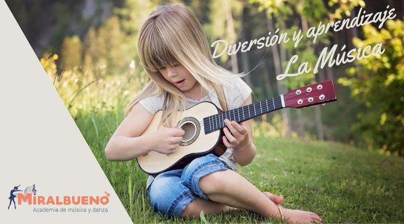 La música: fuente de diversión y aprendizaje en los más pequeños