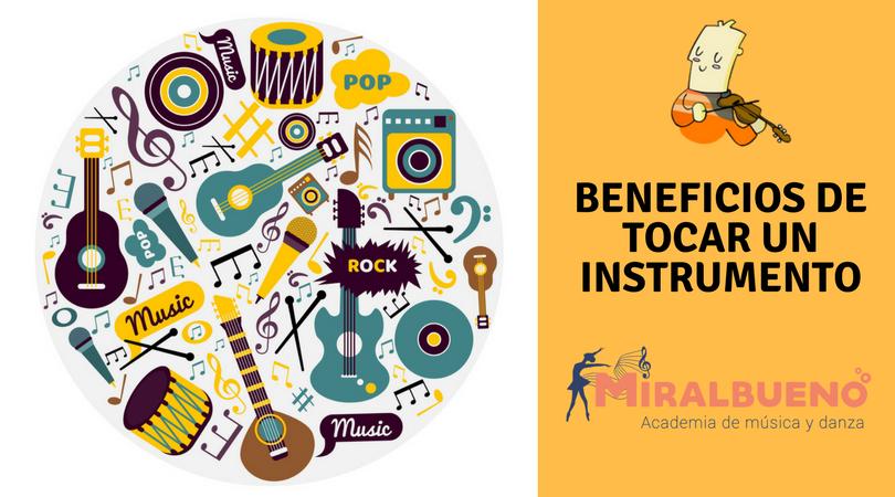 Beneficios de tocar un instrumento